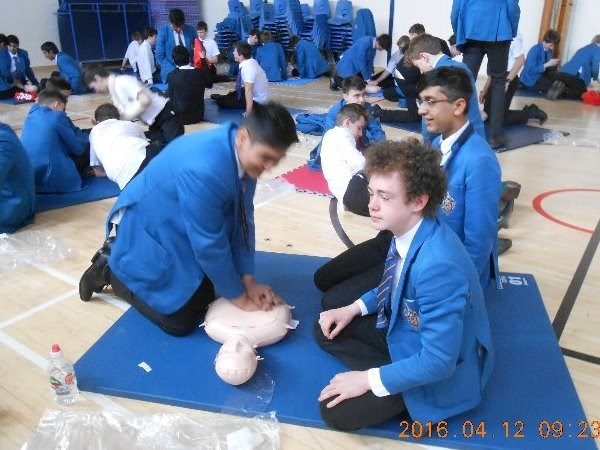 Photo 2 - Year 10 1st Aid Training