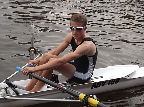 Photo 1 - Arran Bennett Rowing Success