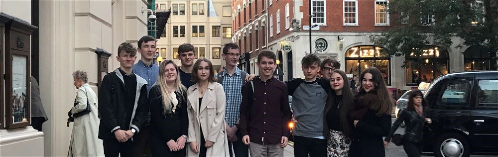 Sixth form musicians visit the Royal Opera House