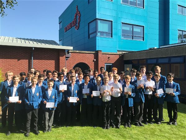 Photo 1 - Huge success in recent national mathematics competitions