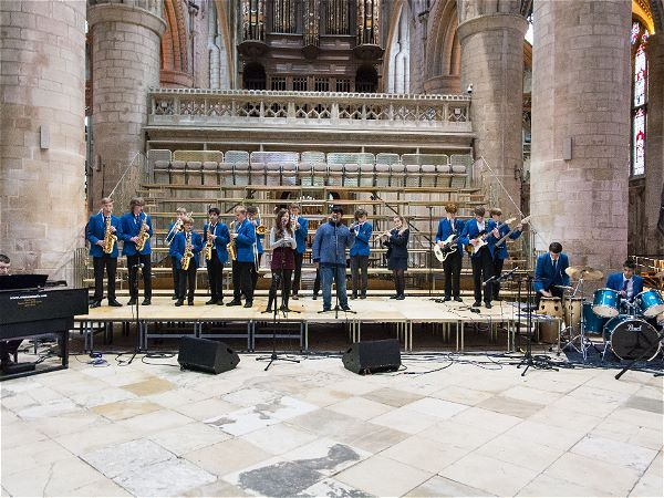 Photo 4 - The Jazz Band Performs at Gloucester Cathedral