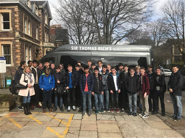 Photo 1 - Year 11 German Trip to Bristol University Monday 26th March