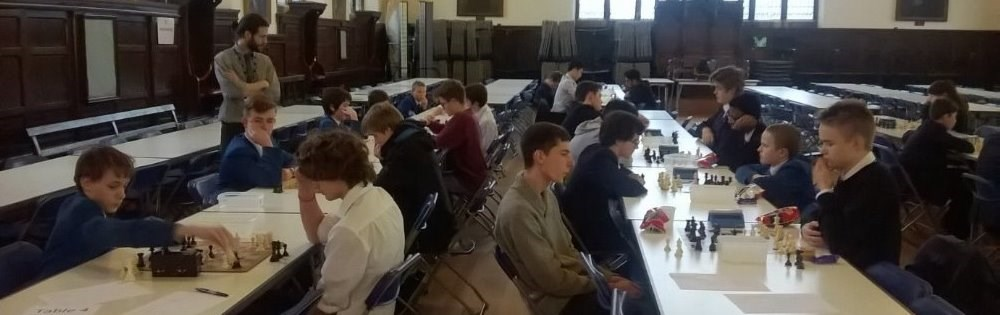 Chess team 2nd in regional rapidplay competition