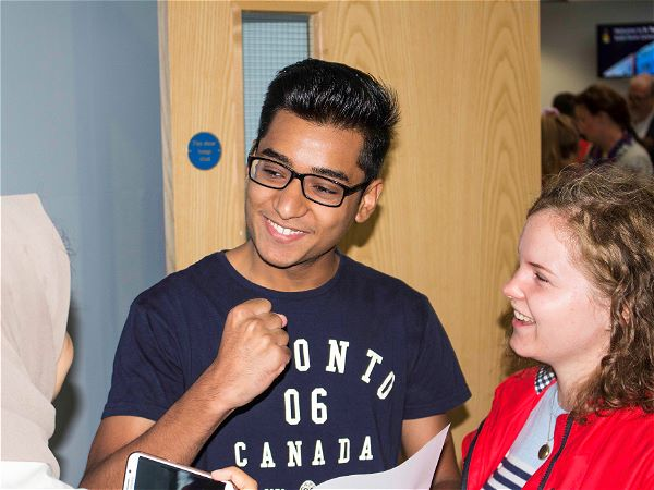 Photo 1 - Students Celebrate A Level Success