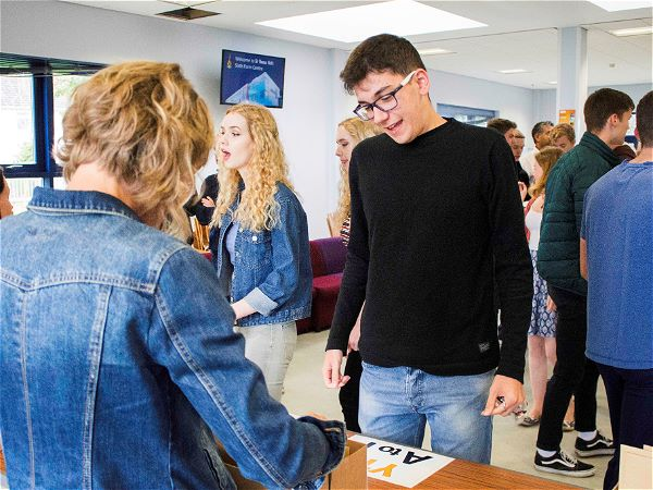 Photo 6 - Students Celebrate A Level Success