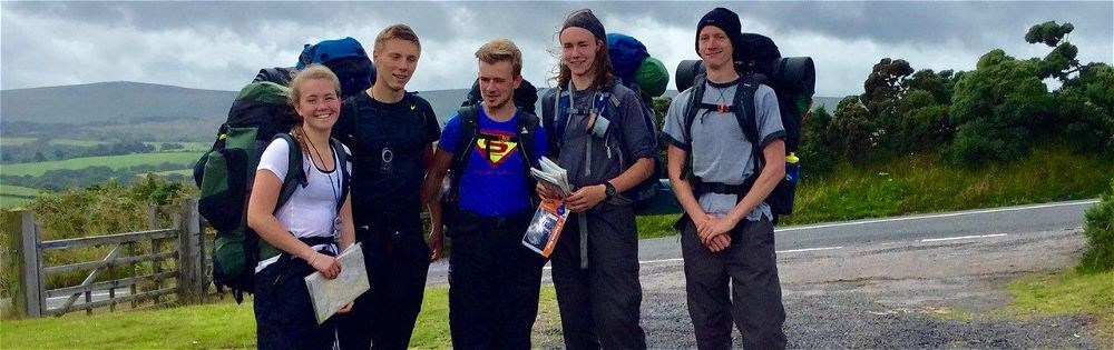 Duke of Edinburgh Practice Expedition in Exmoor