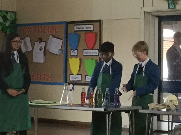 Photo 1 - Fun Science Assembly at Local Primary School