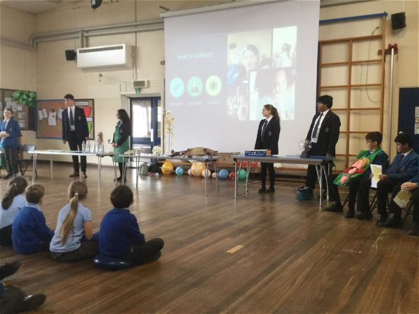 Photo 2 - Fun Science Assembly at Local Primary School