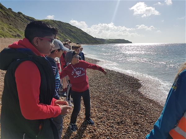 Photo 7 - Year 7 visit to Osmington Bay