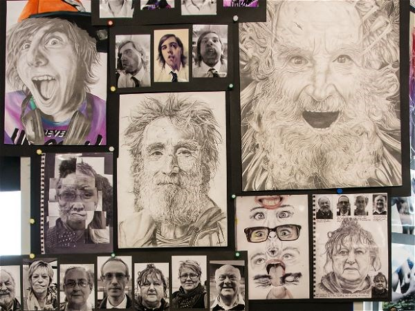Photo 2 - A Level Art Exhibition 2017