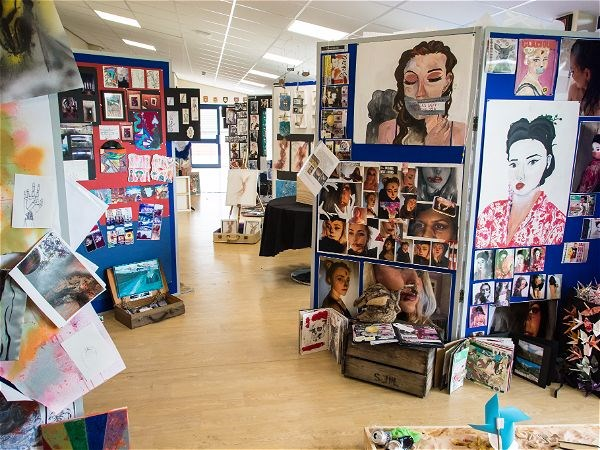 Photo 9 - A Level Art Exhibition 2017