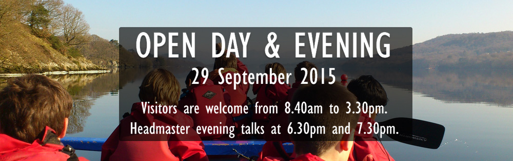 STRS Open Day and Evening - 29 September