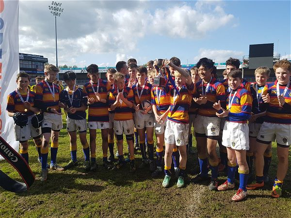 Photo 1 - U14 Rugby County Cup Win