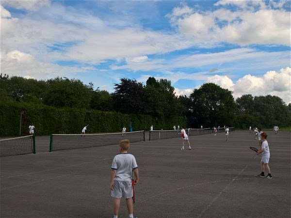 Photo 1 - Tennis V Cleeve School