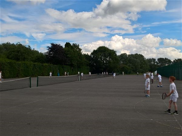 Photo 6 - Tennis V Cleeve School