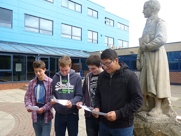 Photo 1 - GCSE Results 2015