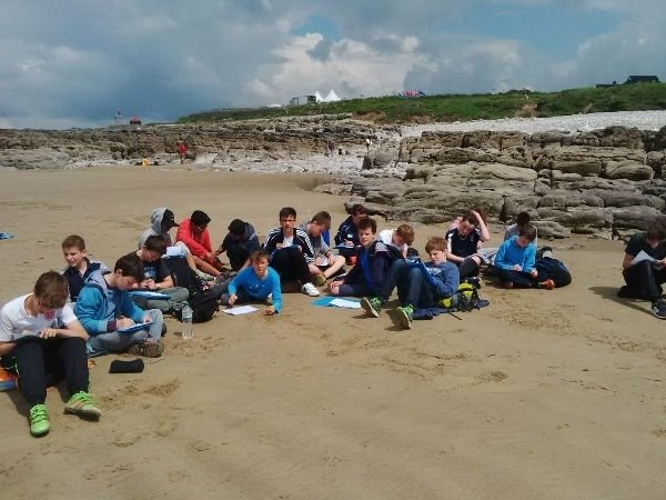 Photo 3 - Year 8 Fieldtrip to Porthcawl and Southerndown Bay
