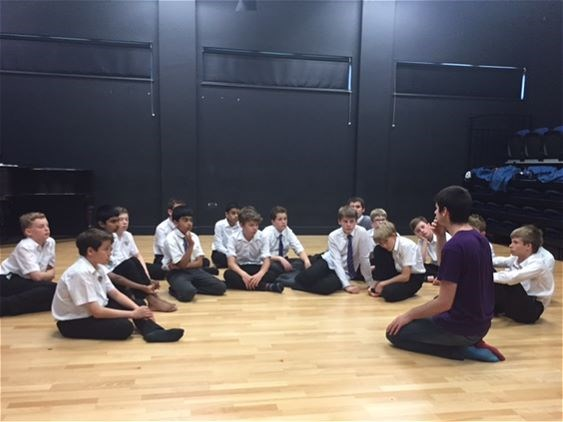 Photo 1 - Year 8 Physical Theatre Workshop