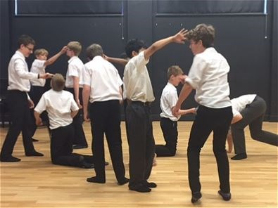 Photo 2 - Year 8 Physical Theatre Workshop