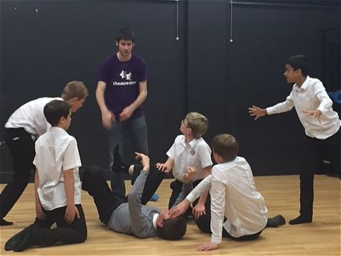 Photo 3 - Year 8 Physical Theatre Workshop