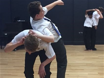 Photo 4 - Year 8 Physical Theatre Workshop