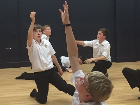 Photo 6 - Year 8 Physical Theatre Workshop