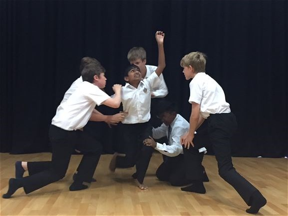 Photo 7 - Year 8 Physical Theatre Workshop