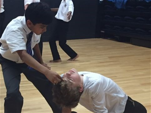 Photo 8 - Year 8 Physical Theatre Workshop