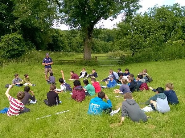 Photo 1 - Year 7 Fieldwork - River Churn