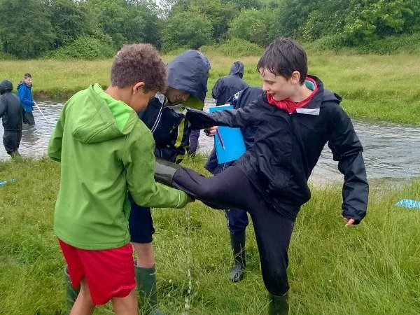 Photo 3 - Year 7 Fieldwork - River Churn
