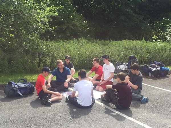 Photo 2 - Bronze DofE expedition well underway