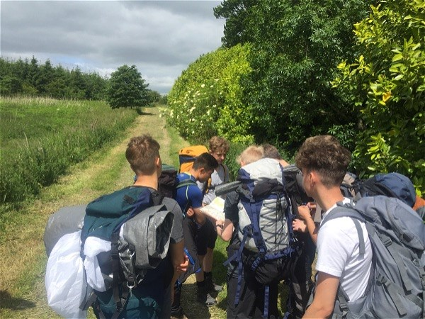 Photo 3 - Bronze DofE expedition well underway