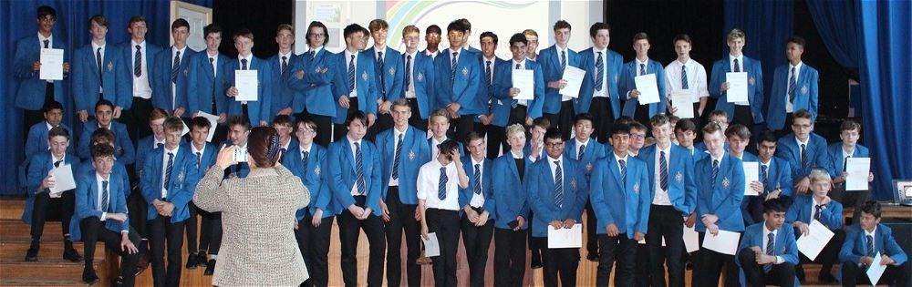Bronze Duke of Edinburgh Presentation Evening