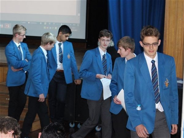 Photo 1 - Bronze Duke of Edinburgh Presentation Evening