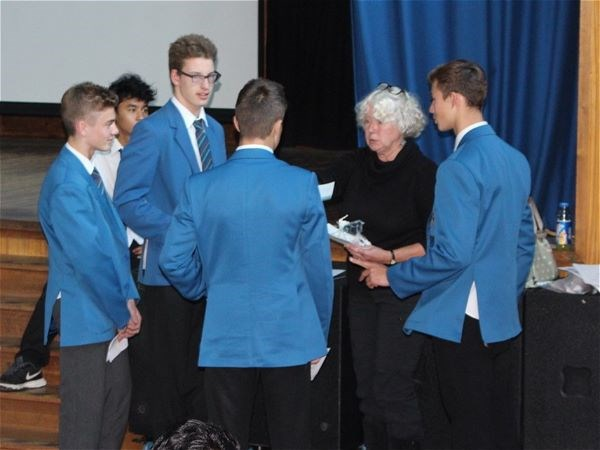 Photo 2 - Bronze Duke of Edinburgh Presentation Evening