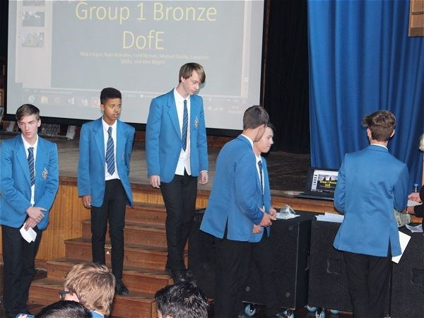 Photo 3 - Bronze Duke of Edinburgh Presentation Evening