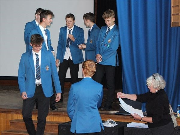 Photo 4 - Bronze Duke of Edinburgh Presentation Evening