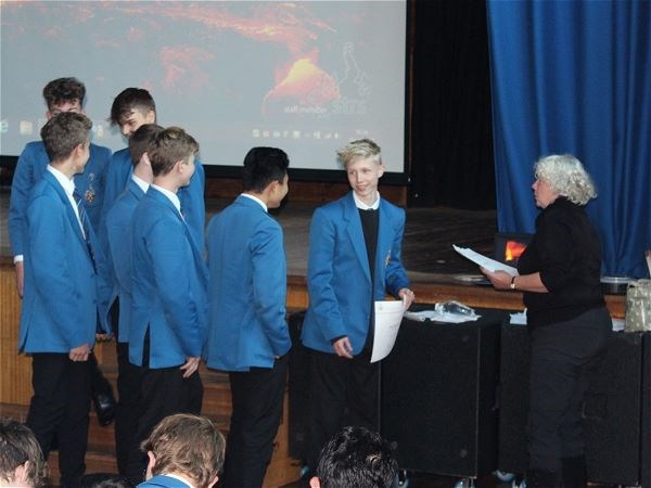 Photo 6 - Bronze Duke of Edinburgh Presentation Evening