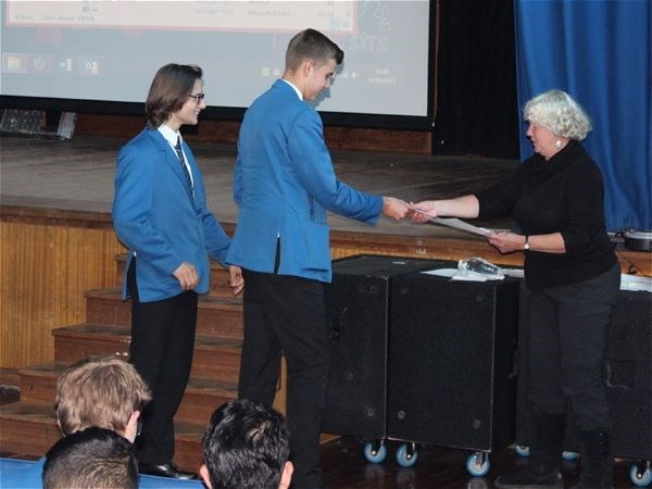 Photo 7 - Bronze Duke of Edinburgh Presentation Evening