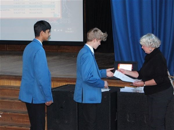 Photo 8 - Bronze Duke of Edinburgh Presentation Evening