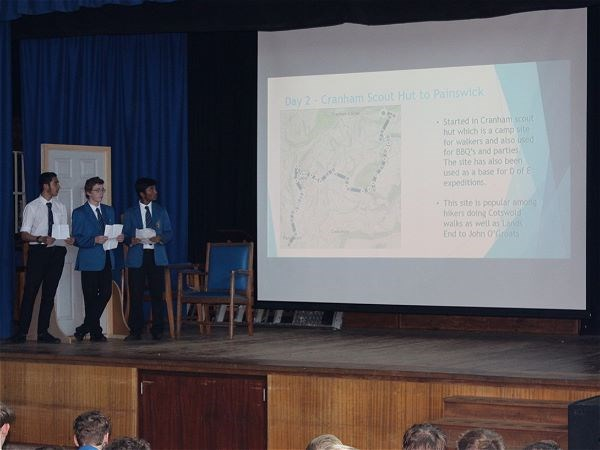 Photo 9 - Bronze Duke of Edinburgh Presentation Evening