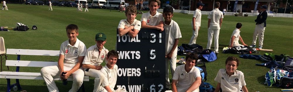 U13's Play Well in Six Aside Cricket Tournament