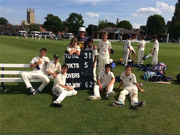 Photo 2 - U13's Play Well in Six Aside Cricket Tournament