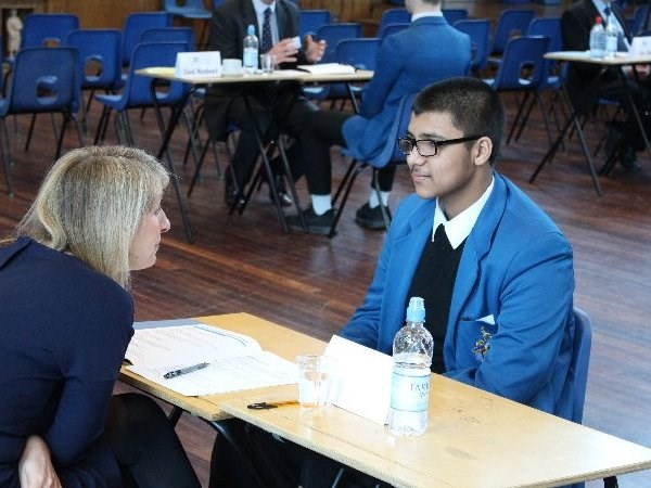 Photo 1 - Year 11 Mock Interviews Morning