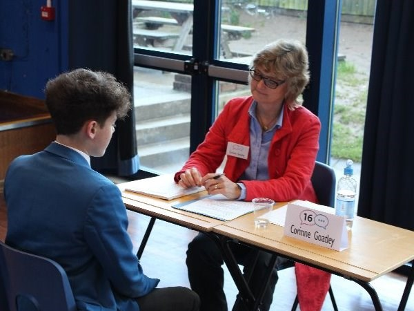 Photo 2 - Year 11 Mock Interviews Morning