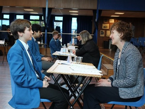 Photo 3 - Year 11 Mock Interviews Morning