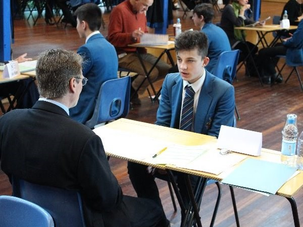 Photo 4 - Year 11 Mock Interviews Morning