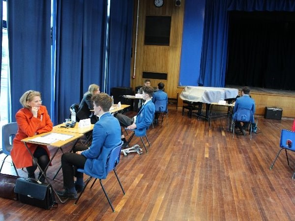 Photo 5 - Year 11 Mock Interviews Morning