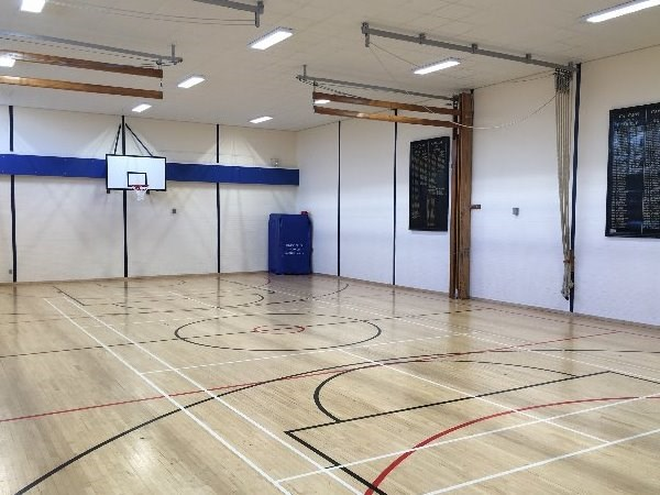 Photo 1 - The gymnasium refurbishment is now complete