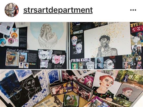 Photo 7 - The Art Department are now live on Instagram.